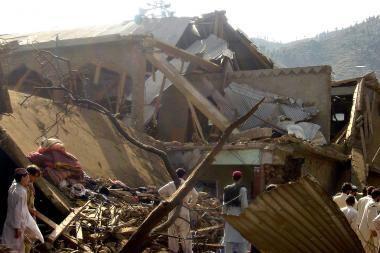 Pakistane surengta pražūtina amerikiečių ataka