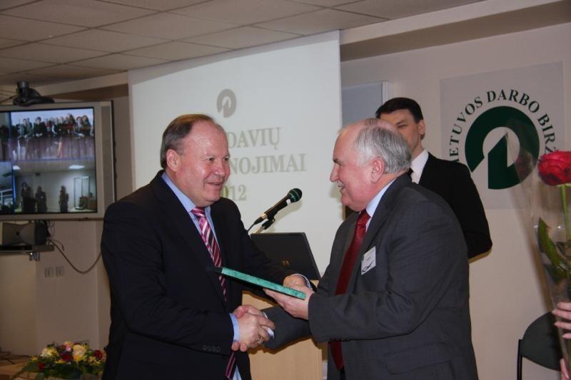 Kauno rajonui – net trys Darbo biržos apdovanojimai