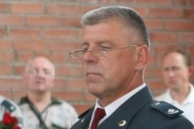 Su tarnyba atsisveikino policininkas V.Balynas