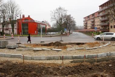 Ketvirtadienį bus atidarytas Radvilėnų ir J.Basanavičiaus žiedas
