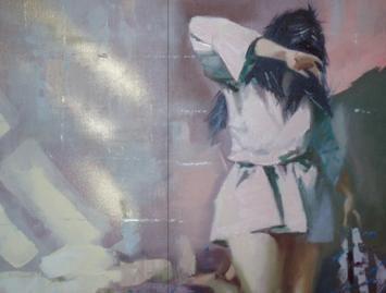 Ukrainos dailininkas kviečia į parodą