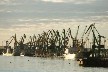 Jūrų uosto krova pernai sumažėjo 7 proc.