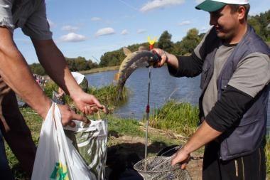 Vilniuje bus tikrinami žvejai