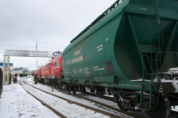 Lietuva Rusijai siūlo didinti tranzitą per Klaipėdą