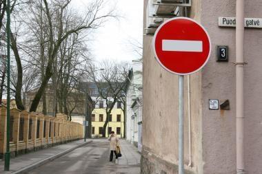 Kaziuko mugės dienomis Vilniaus centre bus ribojamas eismas