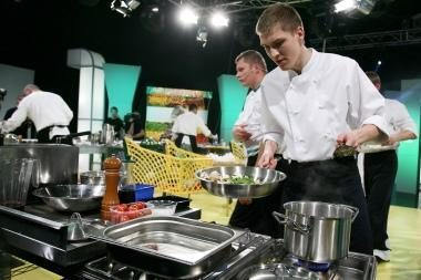 Virtuvėje daugiau laiko praleidžia vyrai