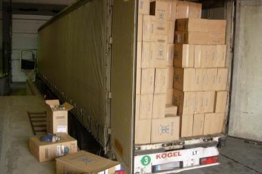 Muitininkų laimikis: kontrabanda už beveik 13 mln. litų