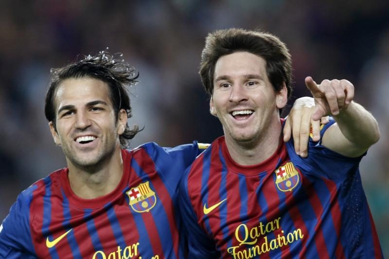 C.Fabregasas: Lionelis Messi gimęs nugalėti