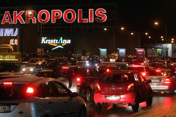 """Per Kalėdas trumpės """"Akropolio"""" darbo laikas"""