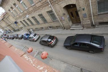 Europos dienos automobiliais užtvindė Senamiestį