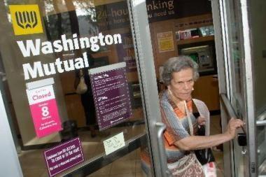 Dar vienas JAV bankas gali bankrutuoti