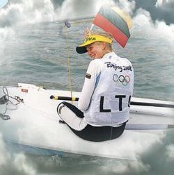 Europos buriavimo čempionate G.Sheidt smuktelėjo į penktą vietą