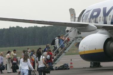 E.Masiulis: oro bendrovės mato perspektyvas Lietuvos oro uostose
