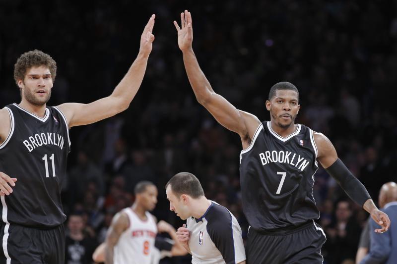 """J.Johnsonas """"Nets"""" išplėšė pratęsimą, o vėliau ir pergalę (rezultatai)"""