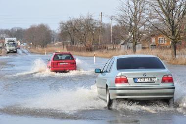 Potvynis pamaryje: iki pirmadienio bus apsemta dar daugiau teritorijų