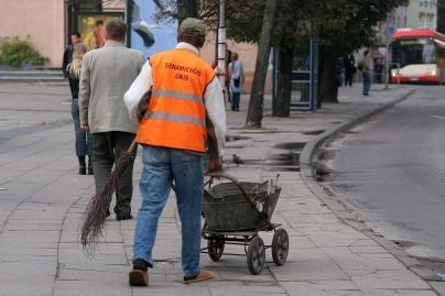 Klaipėdos miesto gyventojai telkiami atlikti visuomenei naudingą veiklą