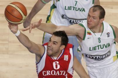 Kokia Lietuvos krepšininkų varžovė Kroatija?