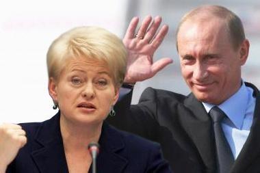 Rusija sukritikavo D.Grybauskaitės žodžius apie pokario partizanus