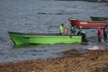 Teismas: priekrantės žvejams turi būti leista žvejoti Baltijos jūroje