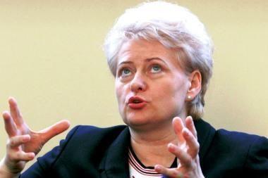 D.Grybauskaitė: antikrizinio plano Lietuvai neužteks