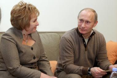 Putinai viešu pasirodymu pademonstravo savo santuokos tvirtumą