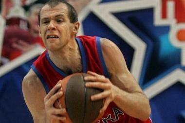 R.Šiškauskas - geriausias Rusijos krepšinio legionierius