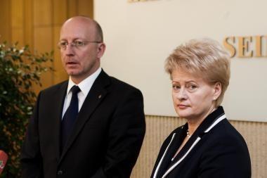 D.Grybauskaitė: koalicija A.Valinsko demaršą turi įvertinti politiškai