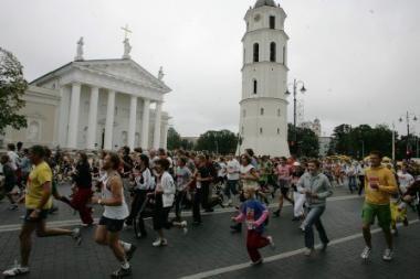 Registracija į Vilniaus maratoną - prieš pusę metų