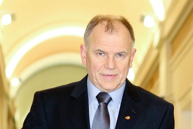 Ministro V. Andriukaičio užmojai kelia sumaištį tarp valdančiųjų