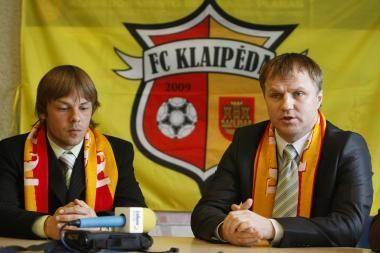 """Futbolo klubas """"Klaipėda"""" pasiruošęs debiutui"""