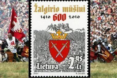 Išleidžiamas Žalgirio mūšiui skirtas pašto ženklas