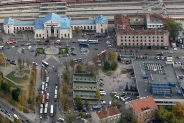 Vilniaus autobusų stotis virto galerija