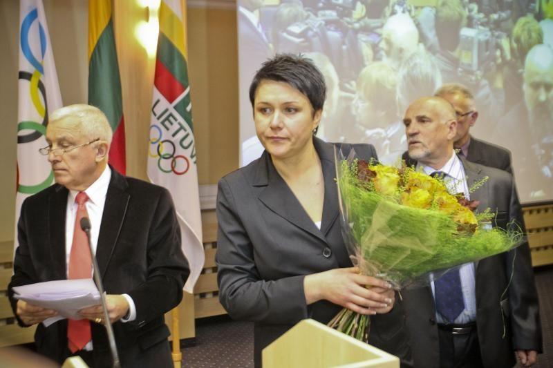 D.Gudzinevičiūtė: matosi, kad Seimo nariams rūpi sporto problemos
