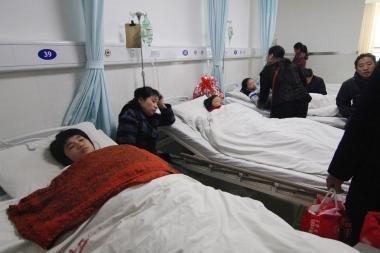 Kinijoje per spūstį mokykloje žuvo 8 vaikai, dar 26 sužeisti