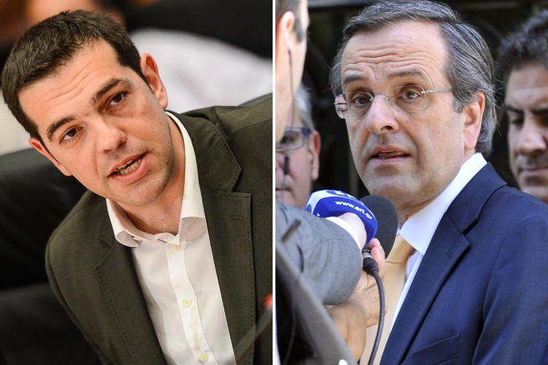 Kartų susidūrimas Graikijoje: A.Samaras prieš A.Ciprą