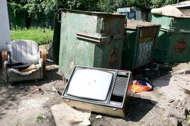 Elektronikos atliekų rinkoje žvanga ginklai