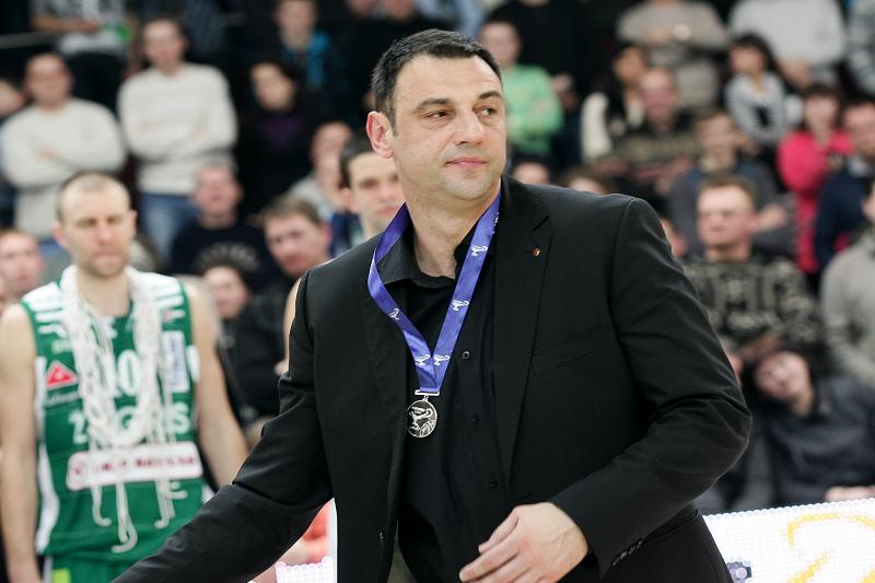 """A.Trifunovičius – naujasis Kauno """"Žalgirio"""" vyr. treneris"""