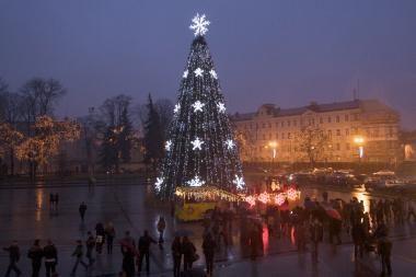 Sniego tikimybė per Kalėdas – maža