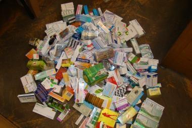 Aleksoto turguje nutraukta neteisėta prekyba vaistais