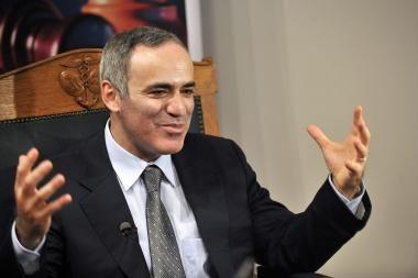 G.Kasparovas prognozuoja perversmą Rusijoje