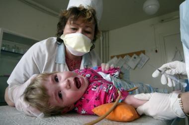 Mirtinu virusu užsikrėtė naujagimiai
