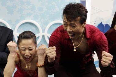 Kinai nutraukė Rusijos čiuožėjų hegemoniją