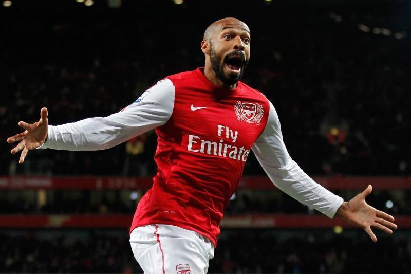 """T.Henry užsiminė apie galimybę ateityje treniruoti """"Arsenal"""""""