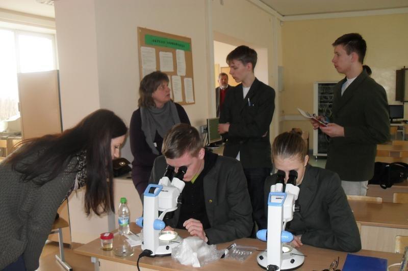 Priekulės gimnazijoje - mokslo šventė
