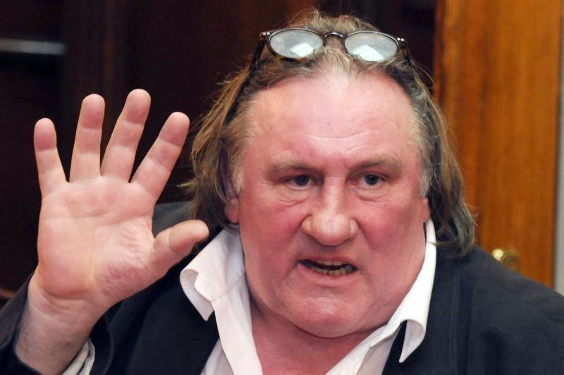Prancūzijos aktorius G. Depardieu statosi namą Pamaskvyje