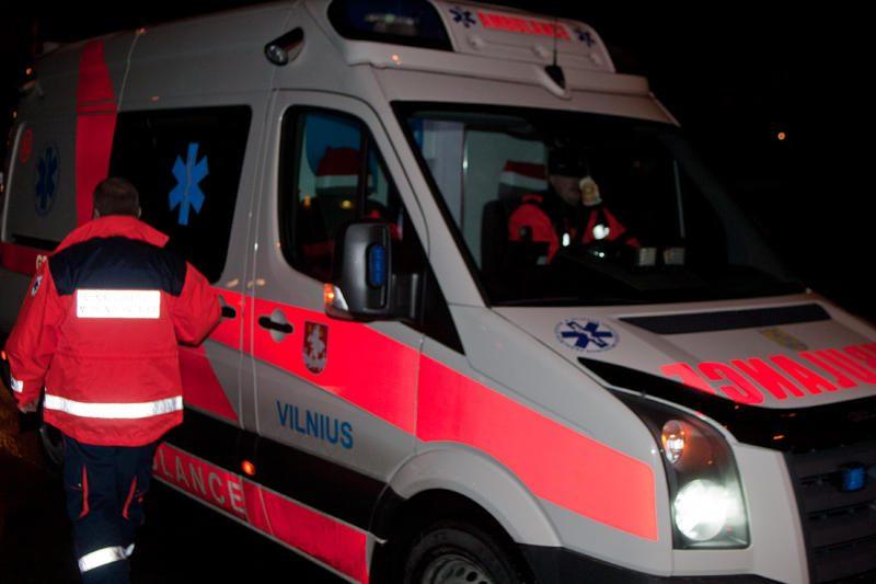Vilniuje susidūrė keturi automobiliai, nukentėjo šešiolikmetis