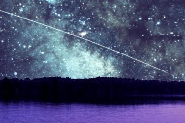 Šią savaitę lietuvių akis džiugins meteorų lietus