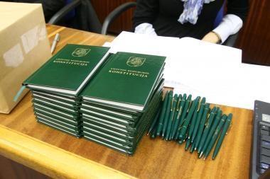 Kalintis klaipėdietis - Konstitucijos egzamino nugalėtojas