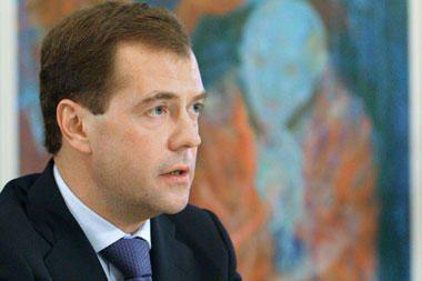 Medvedevas paskelbė siūląs Sobianiną į Maskvos mero postą