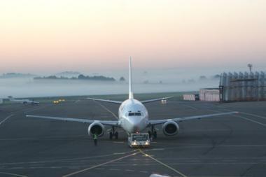 Vilniaus oro uoste - incidentas su Austrijos lėktuvu